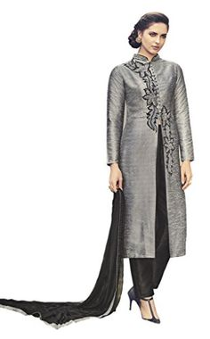Heart & Soul Designer Wedding & Party Wear Fully Stitched Embroidery Designer Salwar Suits Dupatta XL size for Women (Grey) Heart & Soul http://www.amazon.in/dp/B01CVRQT6I/ref=cm_sw_r_pi_dp_g8b5wb1WDYD5P