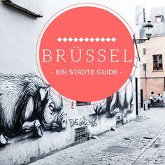 Die besten Tipps für eine Städtereise nach Brüssel. Wo ihr die besten Cafés, schönsten Läden und coolste Street Art (zum Beispiel von ROA) in Brüssel findet.
