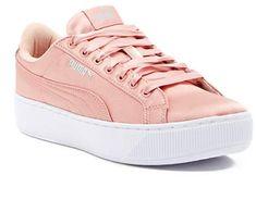 PUMA Vikky Platform EP Sneaker  #fashion #trend #2018 #pink #puma #shoes