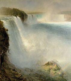 Frederic Edwin Church, Las cataratas de Niágara desde el lado americano,1867.