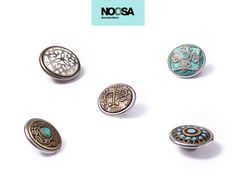 Create your own style and tell your story with the NOOSA-Amsterdam Bridal Chunk® collection.