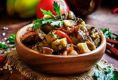 Caponata Vegan Cooking Classes, Cooking Courses, Ratatouille, Food Dishes, Pasta Dishes, Cooking Dried Beans, French Dishes, Fresh Vegetables, Italian Recipes