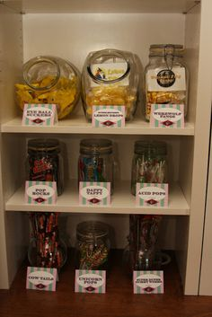 My Harry Potter Party Dollar tree containers