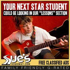 Music Lessons! ~ Guitar