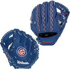 "Chicago Cubs 10"" Youth Synthetic Leather Baseball Glove"