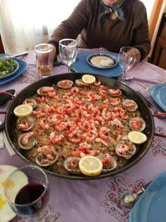 Las Delicias del Arrayan y su paella