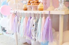 Prancing around, in search of perfect party ideas for your little girl? Look here at this Elegant Pastel Unicorn Soiree at Kara's Party Ideas!