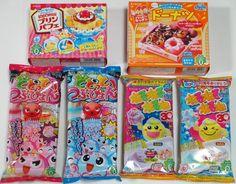 6 pcs Popin Cookin Japanese DIY Candy Kracie Parfait by DecoPopin