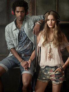Ralph Lauren Denim Supply S/S 13 campaign with AVICII and Lookbook