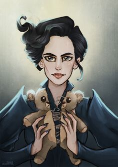 Miss Peregrine's home of Peculiar Children, Eva Green                                                                                                                                                                                 Más