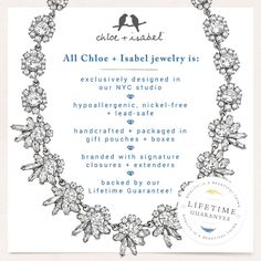 Learn why Chloe + Isabel jewelry tops everyone's wishlist! Visit my personal boutique at https://www.chloeandisabel.com/boutique/EllaLee