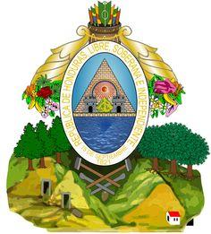 1821, Honduras, Capital: Tegucigalpa, Ext 112492 Km² #Honduras #Tegucigalpa (L1900)