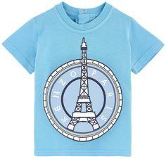 048e35ac2af2 Paris T-shirt Kenzo Kids for babies