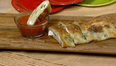 the chew | Recipe  | Mario Batali's Stromboli -- the filling possibilities are endless!