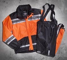 Men's Hi-Vis Rain Suit | Suits | Official Harley-Davidson Online Store #HDNaughtyList