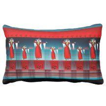 """Armenian Dancer  Lumbar Pillow 13"""" x 21"""""""