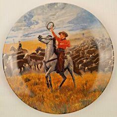 Oklahoma Musical Theater Complete Set 4 Porcelain Collector Plates Mort Kunstler | eBay