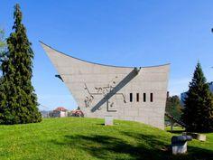 """PATRIMOINE MONDIAL . Inscrite depuis le 17 juillet 2016 sur la liste du Patrimoine de l'Unesco, l'oeuvre de l'architecte Le Corbusier, à Firminy, dans la Loire, constitue le plus """"important ensemble ... #BatiActu"""