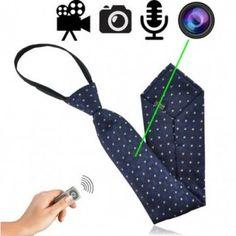 Getarnte Videokamera in Krawatte für diskrete Videoüberwachung und Observation Windows Xp, Mac Os, Usb, String Bikinis, Videos, Cravat Tie, Remote, Patterns, Dental Floss