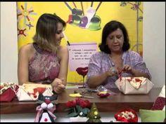 Mulher.com 24/12/2012 Marlei Fosco - Cesta para pães - YouTube