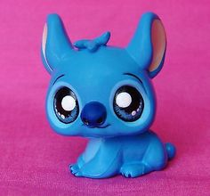 Kawaii Disney Lilo & STITCH OOAK custom figure Littlest Pet Shop Hand painted