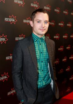 Elijah Wood turns up in Edinburgh to premiere his new film 'Set Fire to the Stars.'