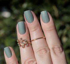 Combinando Esmaltes: verde-água com detalhes - Unha Bonita