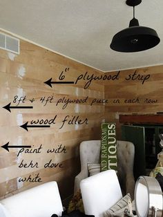 FINALLY I am here with our DIY shiplap tutorial. You guys. this is seriously so easy makes a huge impact on any room. We have always been a shiplap fan even did a shiplap wall in our NC home 4 years ago. Since then we have learned a lot have tried a … Home Improvement Projects, Home Projects, Fixer Upper, Home Renovation, Home Remodeling, Kitchen Remodeling, Installing Shiplap, Shiplap Diy, Shiplap Paneling