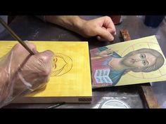 Мастер класс по написанию иконы «Спасителя». Иконопись. Как написать икону. Урок иконописи. - YouTube