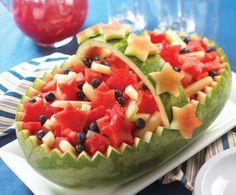 Cozinhando Cores: Fruteiras com Melancia