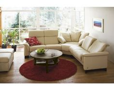 Stressless Paradise Sectional by Stressless/Ekornes | Doerr Furniture Store & Mattresses