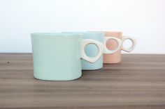 Bean and Bailey Ceramics' mugs.   Learn more about Bean and Bailey, and the other 5 working potters featured in the June/July/August 2015 issue of Ceramics Monthly here: http://ceramicartsdaily.org/ceramics-monthly/ceramics-monthly-junejulyaugust-2015/