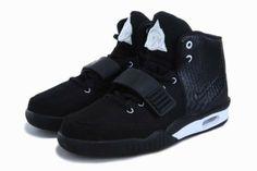 Latest Jordan Shoes | 2013 New Nike Air Yeezy 2 II Mens Shoes Black 04 4