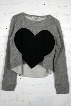heart pullover | Laugh Cry Repeat