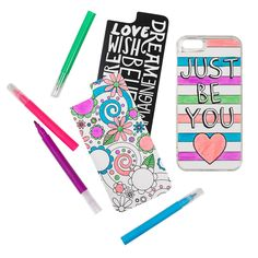 Phone Case Set, Color Me Awesome, Iphone 6/6S - gifts for girls, tween, teen