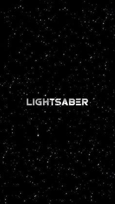 Light saber, Star Wars Art