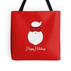 Hipster Christmas Happy Holidays Illustration