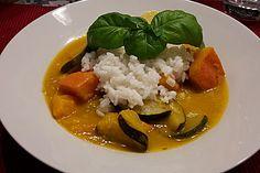 Kürbis - Zucchini - Gemüse indische Art (Rezept mit Bild) | Chefkoch.de