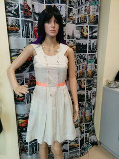 & Other Stories beige dress
