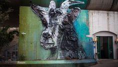 Rome – the making of Bordalo II's stunning artwork