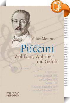 Giacomo Puccini    ::  Wie kein anderer Komponist wollte Puccini sein Publikum ergreifen, rühren und unterhalten. Schönklang, Effektsicherheit und eine mit viel Aufwand hergestellte Couleur locale machten ihn zu einem der meistgespielten Opernkomponisten. Der Anerkennung dieses populären Künstlers stand immer der Zweifel an seiner Seriosität gegenüber. Erst seit circa 60 Jahren existiert eine Puccini-Forschung, die die Virtuosität seines musikalischen Handwerks neben die melodische Erf...