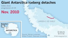 After Antarctica sheds a trillion-ton block of ice, the world asks: Now what? - LA Times