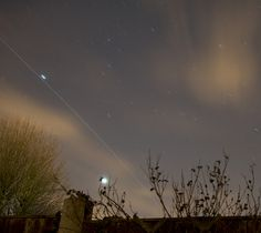 International Space Station passing overhead on 23rd February 2012
