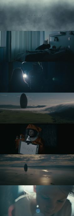 Arrival Memory: Got bored with the film at the middle but I was mindblown by the ending. Beau Film, Cinematic Photography, Film Photography, Arrival Movie, Film Composition, Color In Film, Denis Villeneuve, Best Cinematography, Sci Fi Films