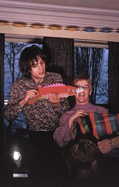 Syd in Cambridge, Christmas 1967.