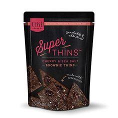 Cisse Super Thins Cherry Sea Salt (12x4 Oz)