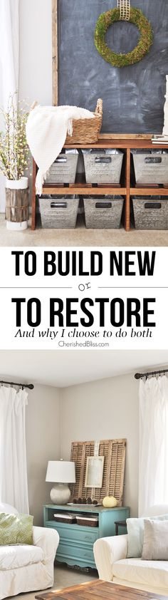 To Build New or To R