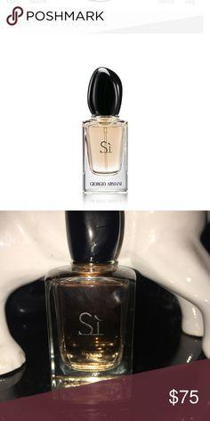 Giorgio Armani Sí perfume Giorgio Armani Sí perfume 1.7oz/ 50mL only sprayed 3x Giorgio Armani Other