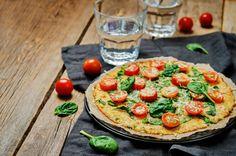 Aprenda a fazer uma deliciosa pizza com massa de couve-flor