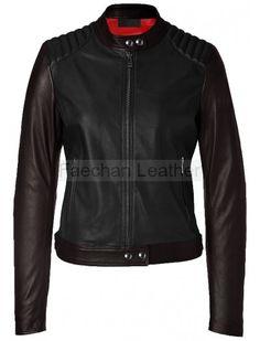 Thrilling Women Leather Jacket